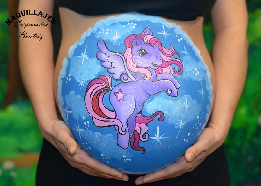 Barriguita mi pequeño pony 2